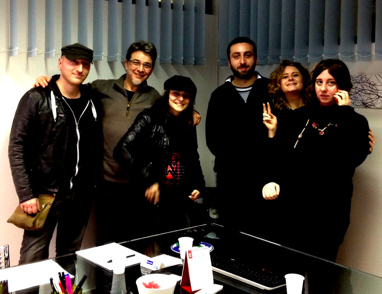 the actions e lo staff di pippola